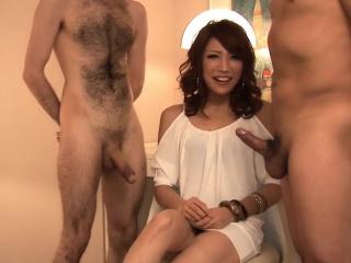 Aya Sakuraba gives head in mind blowing modes