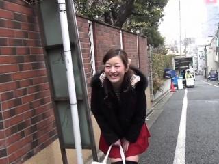 Japanese teens flashing