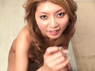 Temptress seductively strips before sucking a hairy boner