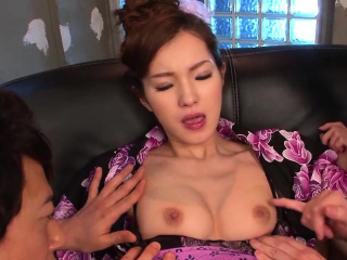 Asian cutie has her pussy fingered and toyed to completion