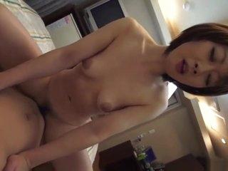 Big Boobs Haruka Sasano Delights With A Young Cock