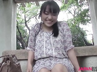 Japanese teen Emi Honada blowjob and sex