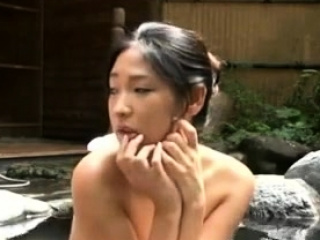Japanese Asian Couple Fucks In Mixed Public Bath