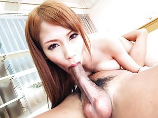Nami Itoshino sucks, fucks and s - More at Japanesemamas.com