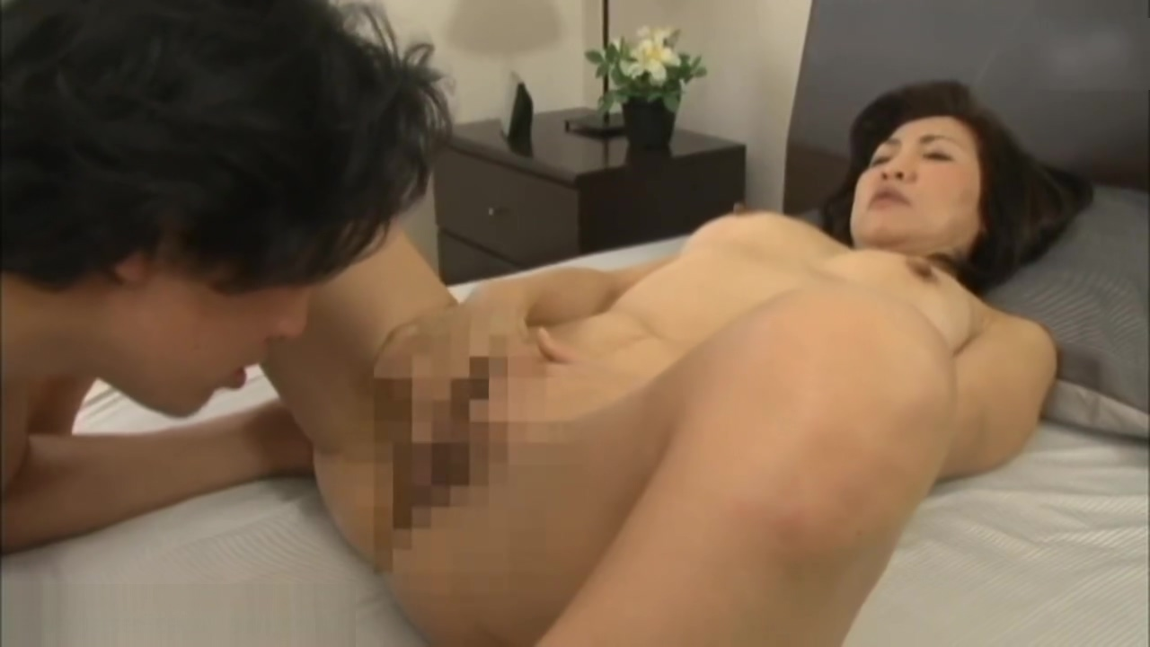 Horny Japanes Step Mom Catches Step Son Masterbating