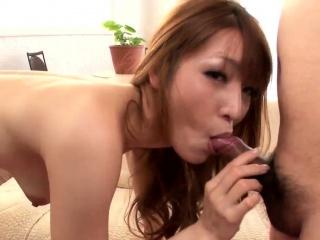 Saori goes wild on cock in scenes - More at Slurpjp.com
