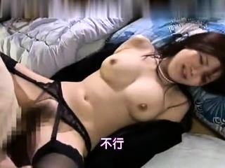 Blonde busty girlfriend in stockings hardcore