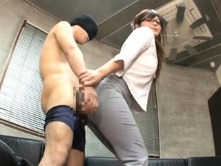 Luxurious japanese Yurika Miyaji enjoys that yummy pole