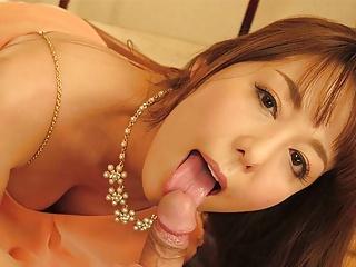 Japanese housewife Akari Asayiri cheated, uncensored