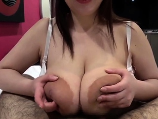 Busty blonde milf rides monster cock after giving wet titjob
