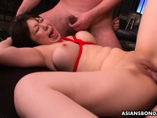 Kaoru Hirayama got fingered and fucked in the basement