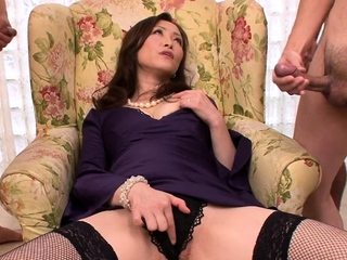 What to do with legs in stockings V