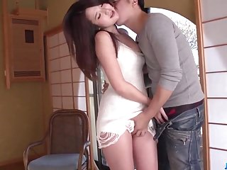 Erotic fantasy with Japanese model Yukina Saeki