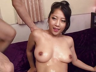 Uncensored Japanese AV fingering and double blowjob Subtitle