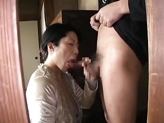 Japanese Mature BJ CIM 18