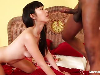 Geisha Marica takes a BBC and a giant load