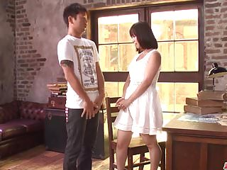 Wakaba Onoue fucked by two men in hard scenes